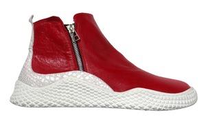 Buty sportowe na zamek Pascuello czerwone