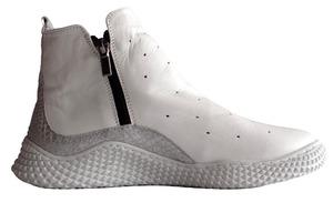 Buty sportowe na zamek Pascuello białe