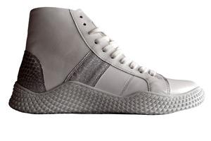 Buty sportowe sznurowane Pascuello białe